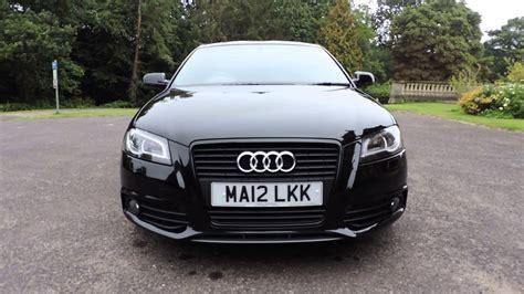 Audi A3 Saloon S Line Black by Audi A3 2 0 Tdi S Line Black Edition 170 Walkaround Youtube