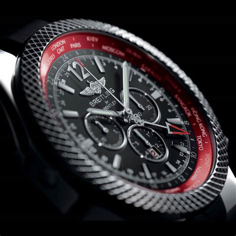 bentley breitling clock breitling celebrates continental gt with gmt v8