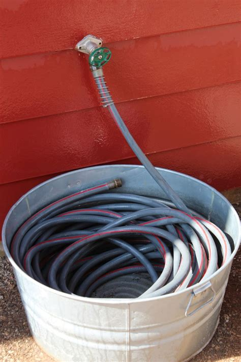 simple designs   replace   garden hose holder