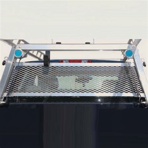 System One Rack by System One Cab Window Guard For Service Truck
