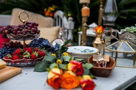 backyard appetizers kara s party ideas backyard vintage girls night soiree