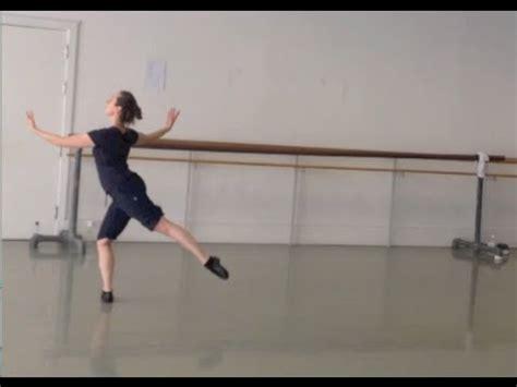 tutorial dance class balanc 233 en tournent ballet class tutorial intermediate