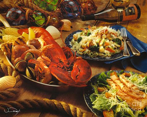 Seafood Buffet Dinner Photograph By Vance Fox Seafood Buffet In Louisiana