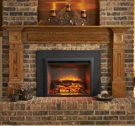 Using Fireplace by Decoration Ideas Fancy Brown Mosaic Tile Brick Wall