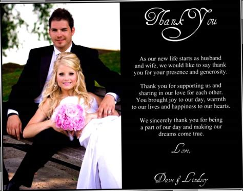 unique wedding thank you card sayings quotes for wedding thank you cards image quotes at hippoquotes