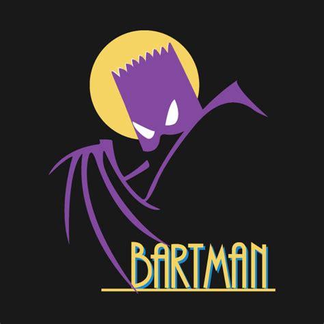 Hoodie Batman Series 5 Station Apparel bartman the animated series bart hoodie