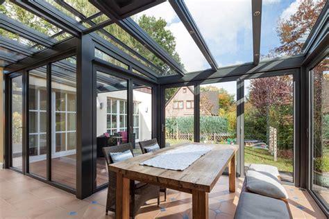 glaswand veranda glaswand f 252 r den wintergarten zum falten 187 livvi de