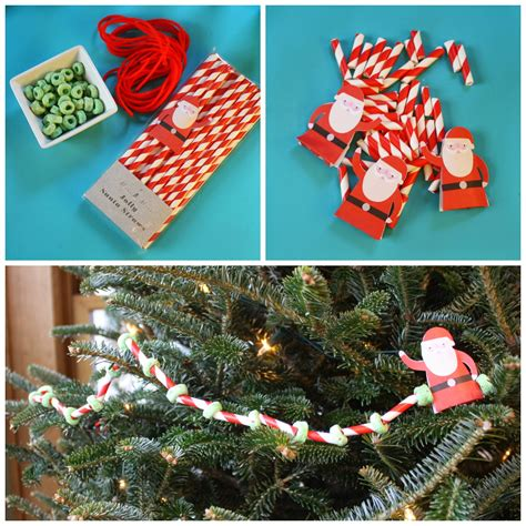 Paper Straw Craft Ideas - the chirping four craft projects for the holidays