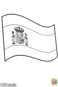 spain flag coloring page free coloring pages of the spain flag