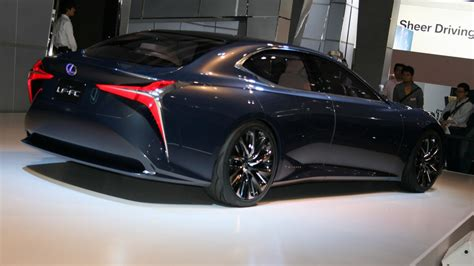 lexus lf fc interior 2018 lexus ls to be unveiled early next year