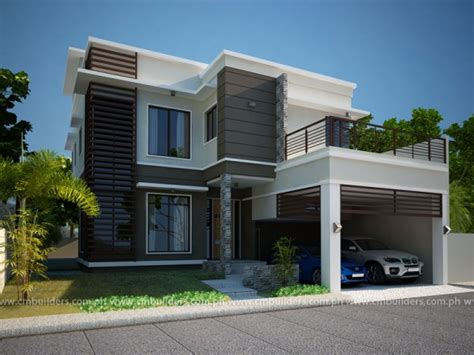 modern house design in philippines modern home design cm builders