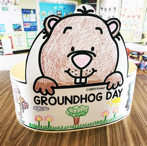 groundhog day just put that anywhere free groundhog day hat simply kinder