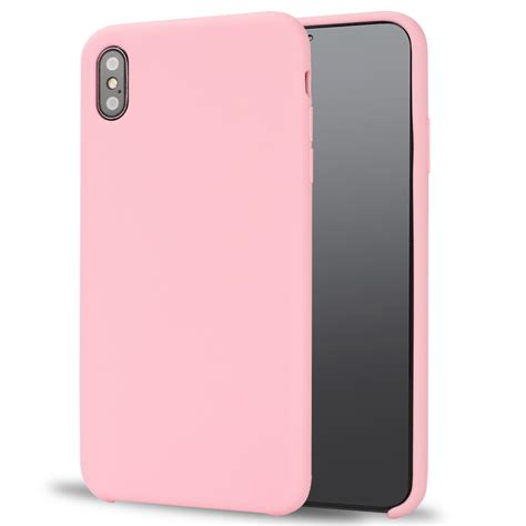 wholesale iphone xs max pro silicone hard case pink