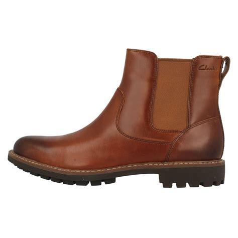best mens chelsea boots mens clarks chelsea boots montacute top ebay