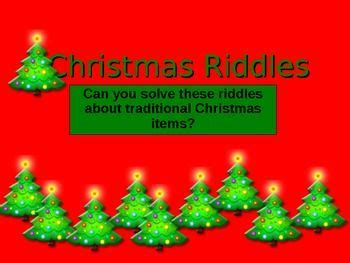 christmas riddles riddles and presentation on pinterest