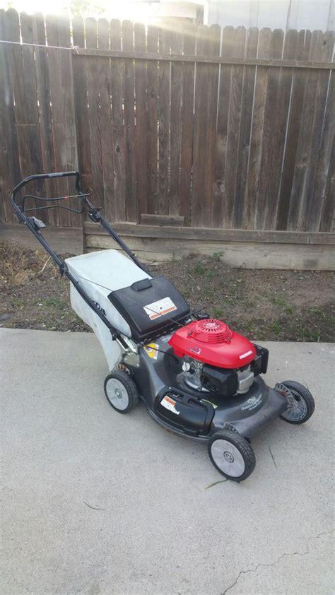 honda harmony  hrt quadra cut system walk   propelled cammercal lawn mower home