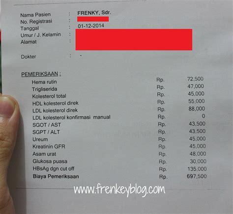 Bio Di Jakarta biaya check up bio medika