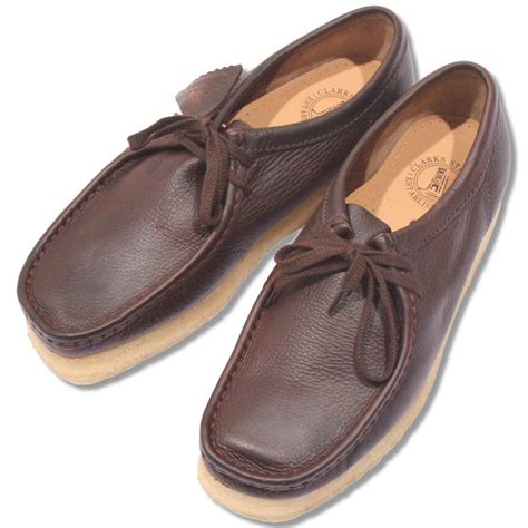 Clarks Leather Sol Leather clarks originals classic 2 real crepe sole wallabee shoe brown leather adaptor clothing