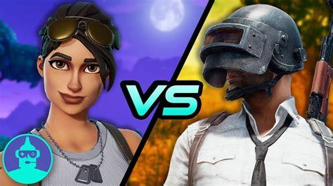 fortnite vs battlegrounds fortnite vs playerunknown s battlegrounds which is