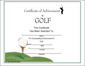golf handicap certificate images