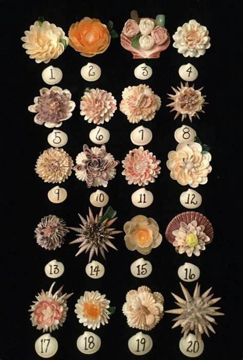 17 best ideas about shell flowers on pinterest pistachio shells seashell crafts and shell crafts