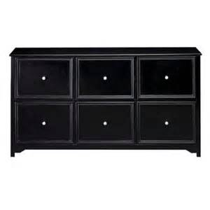 Home Decorators File Cabinet by Home Decorators Collection Oxford Black 6 Drawer File