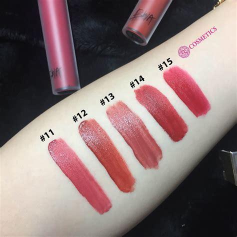 Bbia Last Velvet Lip Tint 2 bbia kem last velvet lip tint series