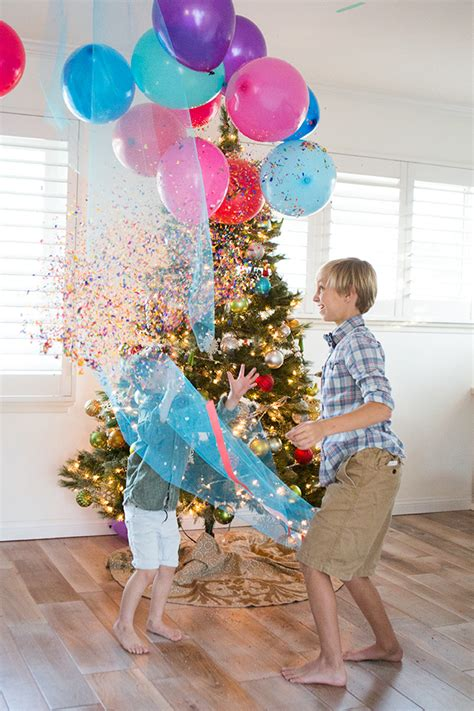 diy new year s balloon drop for