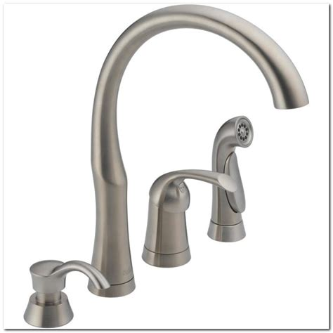 high flow kitchen faucet delta high flow kitchen faucets sink and faucet home