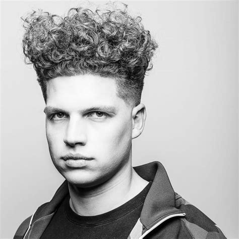 curly top tapered sides haircuts picture short hairstyle 2013