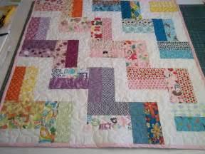 zig zag quilt pattern tutorial baby quilt pattern pdf
