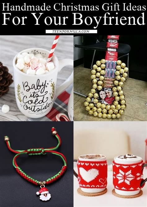gifts for boyfriends parents for christmas 35 handmade gift ideas for your boyfriend