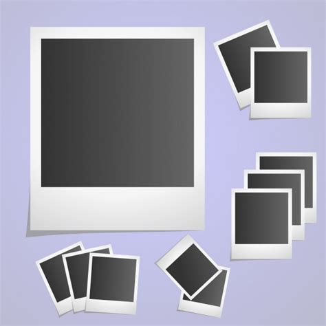 Photo Frame Bingkai Foto Frame Foto Gantung Mini 1 polaroid picture frame collection vector free