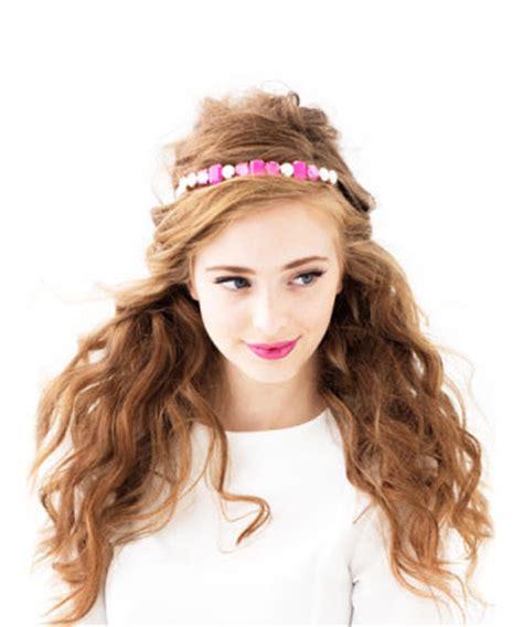 Bando Pink Tiara By Sashashop 9 stunning hair accessories for prom