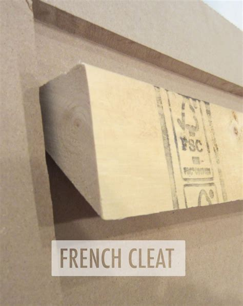 french cleat headboard how to build a west elm knock off upholstered headboard