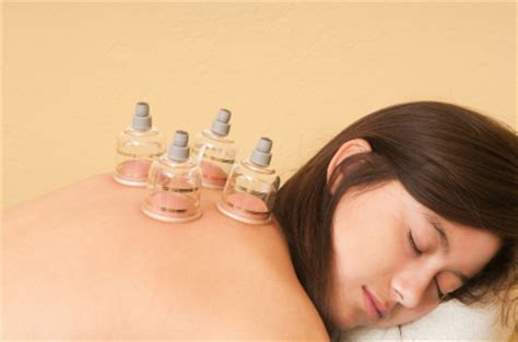 Cupping Detox Therapy by Treatment Medicine Acupuncture And Herbs