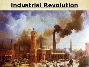 Day 081 Causes Of The Industrial Revolution In Great Britain Powerpoint Industrial Revolution Powerpoint Template