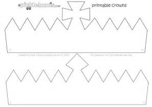 make a crown free printable crown template picklebums