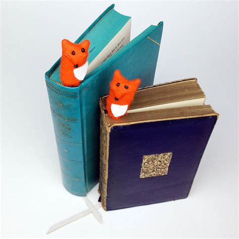 Handmade Fox - handmade findlay the fox bookmark by mirjami design
