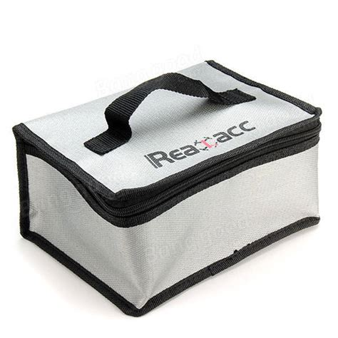 Fireproof Rc Lipo Battery Safety Bag 220x155x115mm realacc retardant lipo battery bag 220x155x115mm with handle rc malaysia