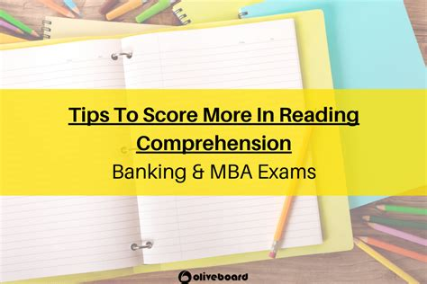 Mba In Banking Syllabus by How To Increase Reading Comprehension Scores Banking