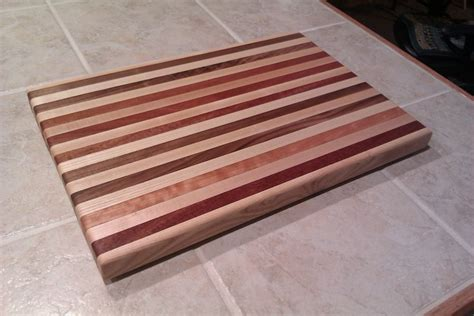 Laminated Cutting Board By Ruizd Lumberjocks Com