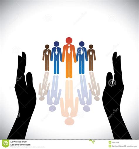 stock photo company concept secure protect company corporate employees