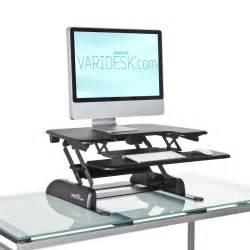 Sitting Standing Desk Varidesk New Product Launch Rt7