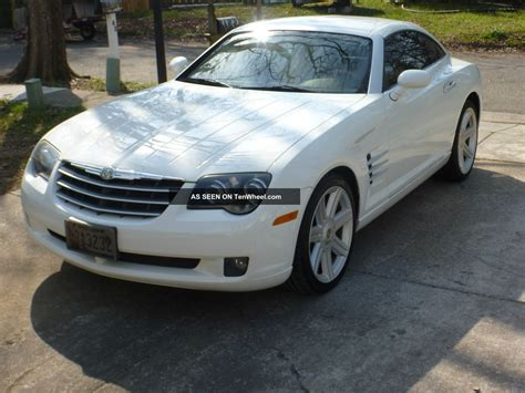 chrysler crossfire automatic 2004 chrysler crossfire 2s white 88k car automatic nr