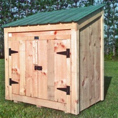Outdoor Trash Can Shed by Garbage Can Shed Trash Shed Outdoor Trash Can Enclosure