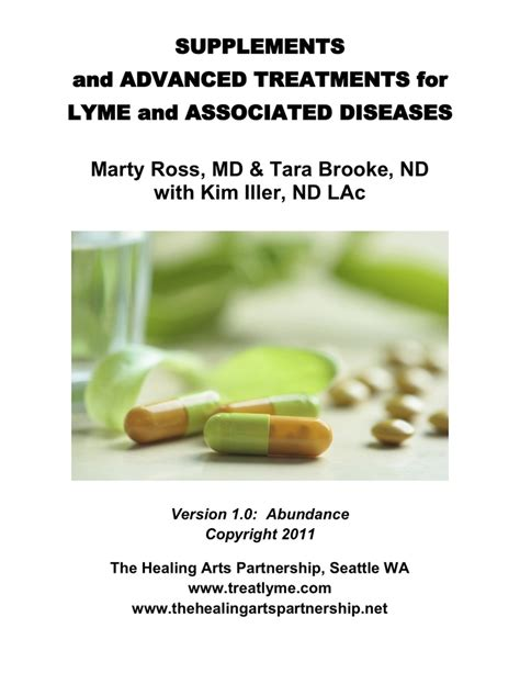 Detox Treatments For Lyme Disease by One And Desc Of All The Antibiotics Treat Lyme And