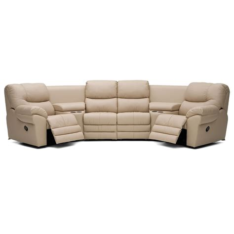 Cheap Reclining Sectional Sofas Palliser 41045 Sectional Divo Reclining Sectional Discount Furniture At Hickory Park Furniture