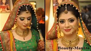 Hindu Wedding Dress For Bride Simple Rajasthani Bridal Look Youtube
