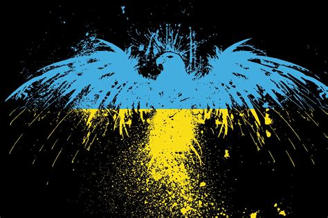 Ukraine Flag Pictures O Alphabet Wallpaper